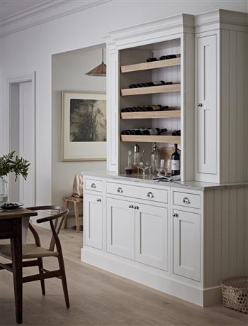 Made to measure drinks dresser kitchen unit