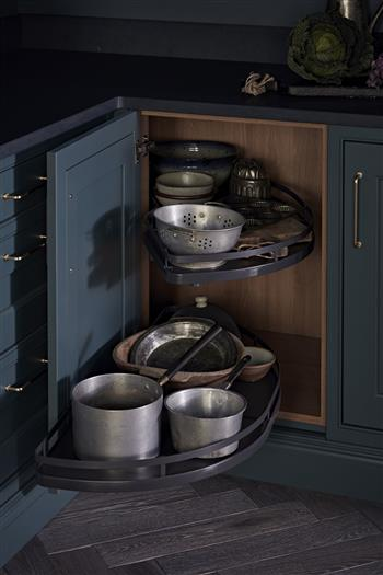 Pot and pan rack storage solution