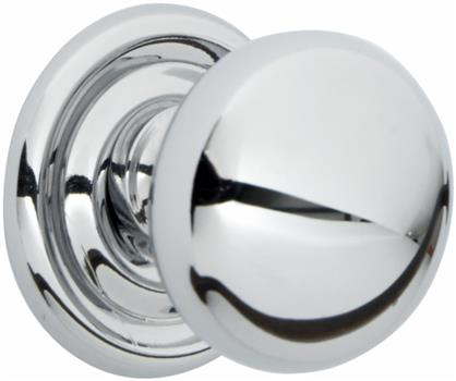 Chrome knob suitable for handmade kitchen