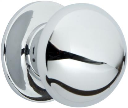 Chrome kitchen cabinet knob