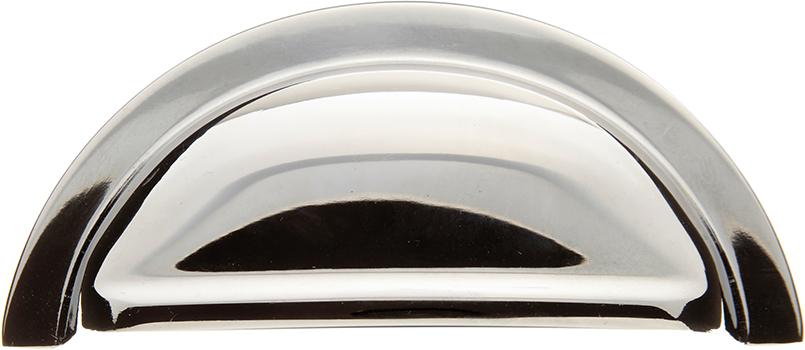 Chrome cup handle